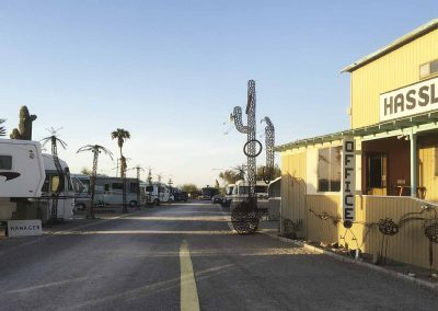 Hasslers RV Park Quartzsite Arizona Slide 001
