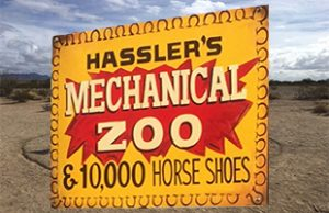 Mechanical-Zoo Hassler's RV Park Quartzsite Arizona